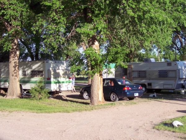 Camping Spots At The RV Park Are Nice And Shady